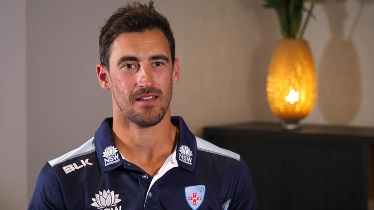 Mitchell-Starc-NSW-Blues-Interview-still